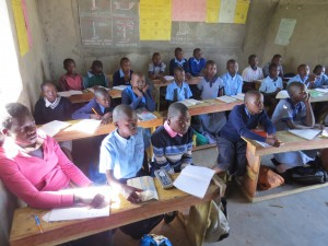 Pupils in class' learning session