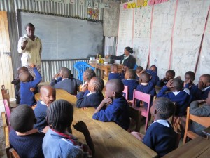 Shelter of Hope Nairobi Pupils in class